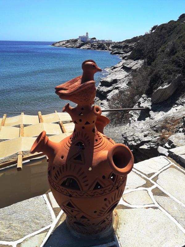 Sifnos tradicionalni keramicki fenjeri