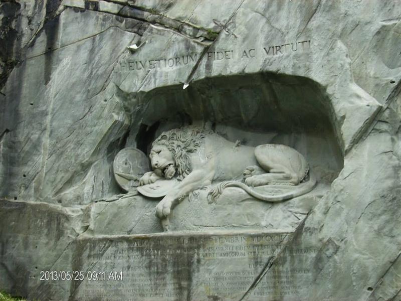 Umirući lav