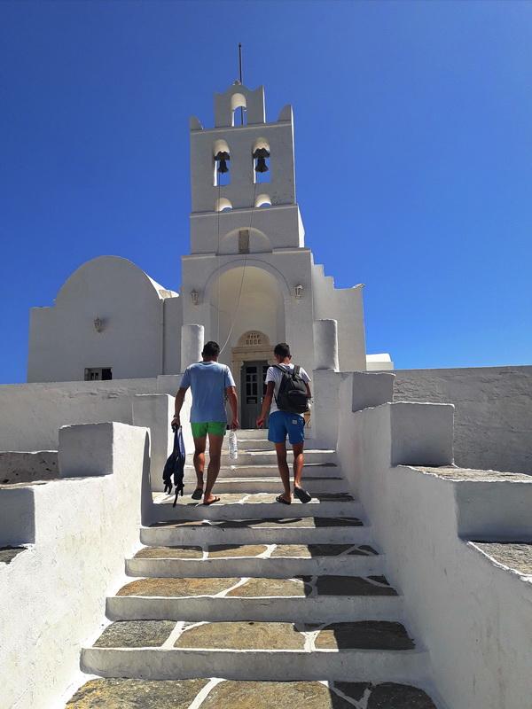 Sifnos manastir Panagia Xrisopigi