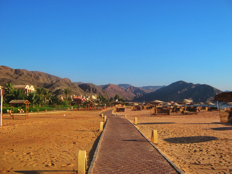 Taba Heights staza pored mora