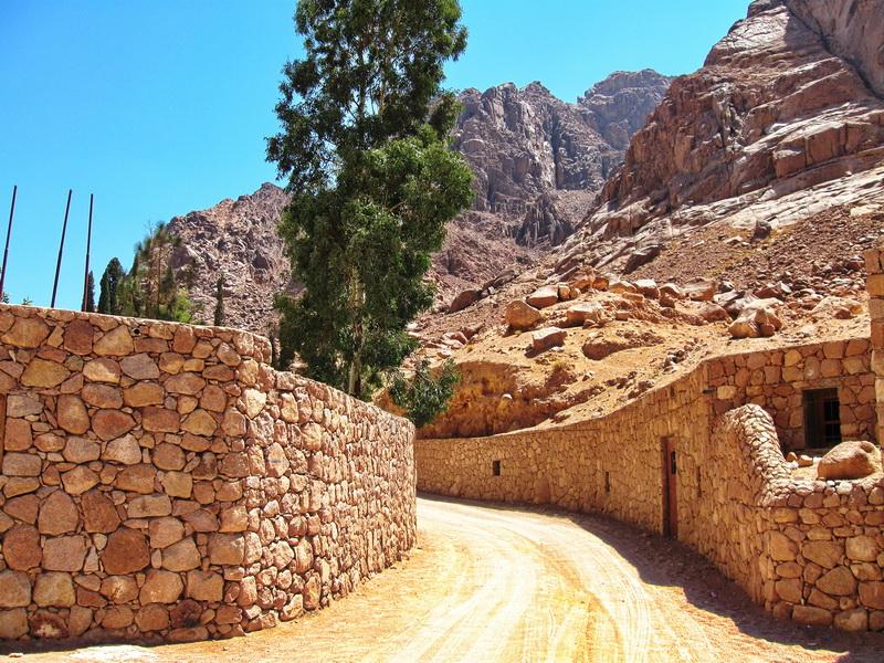 Manastir Svete Katarine prilaz
