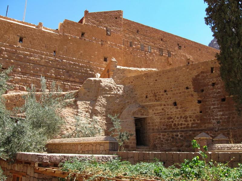 Manastir Svete Katarine zidine
