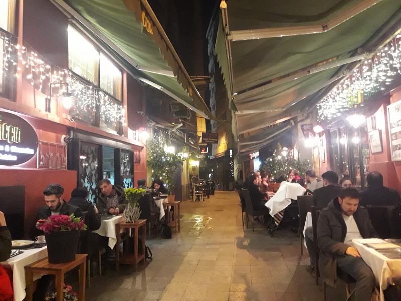 Noć u Istanbulu