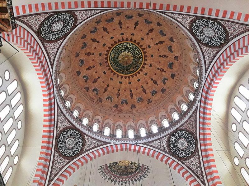 Sulejmanija unutrašnjost