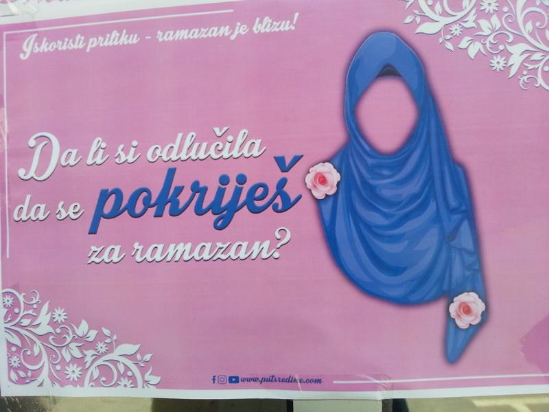 Novi Pazar plakat sa gradskih zidova