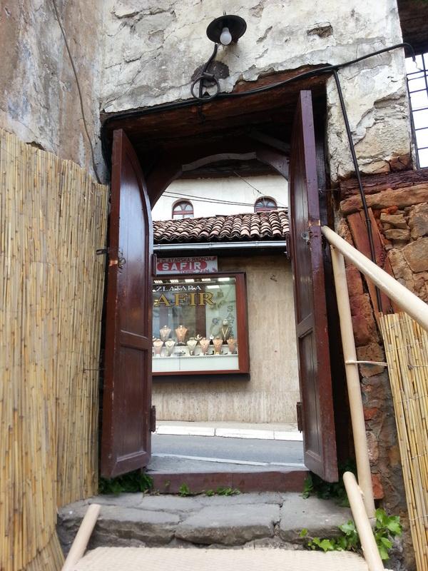 Ulaz u baštu hamama Novi Pazar