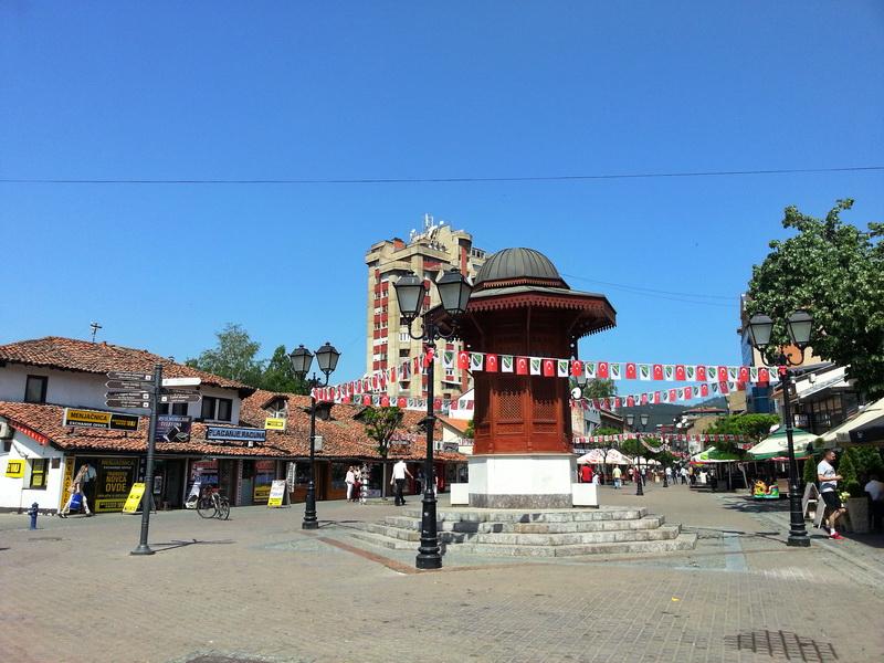 Novi Pazar Sebilj u centru grada
