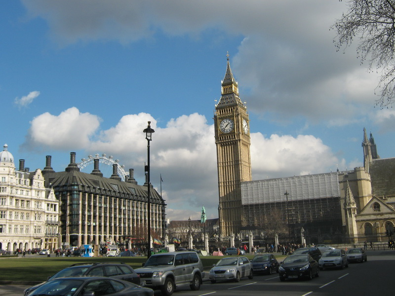 London Parlament squer