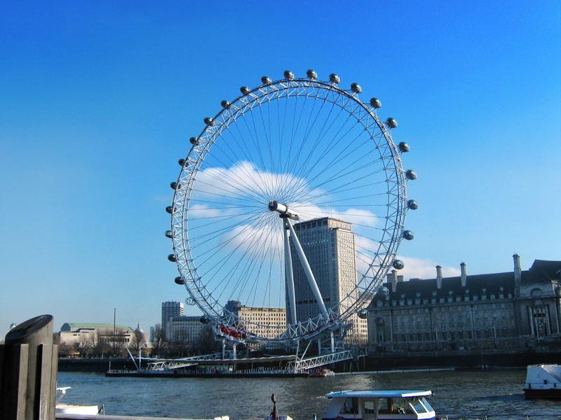 London eye panoramska vrteska