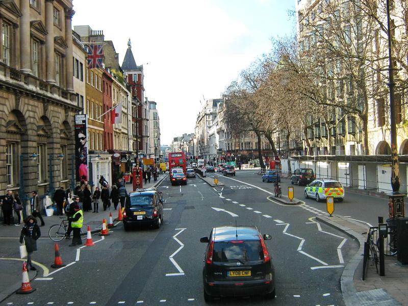 Voynja londonskim ulicama