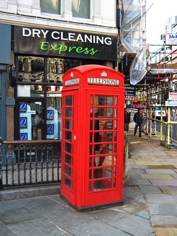 London crvena telefonska govornica