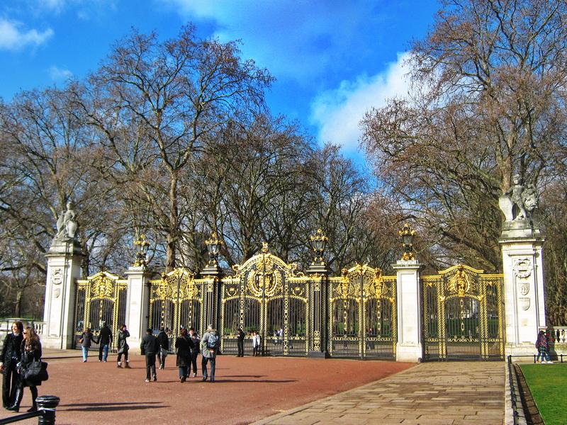 Bakingemska palata London jedna od kapija
