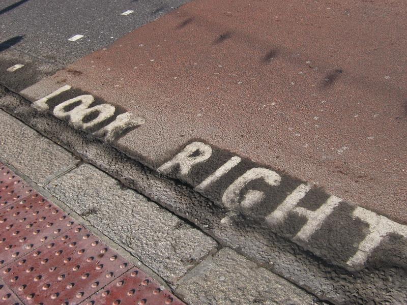 London oznaka na pesackom prelazu