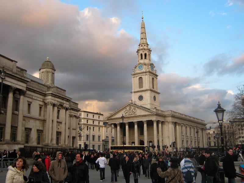 Trafalgar squer najveci londonski trg