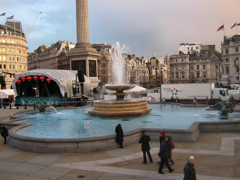 Trafalgar squer London