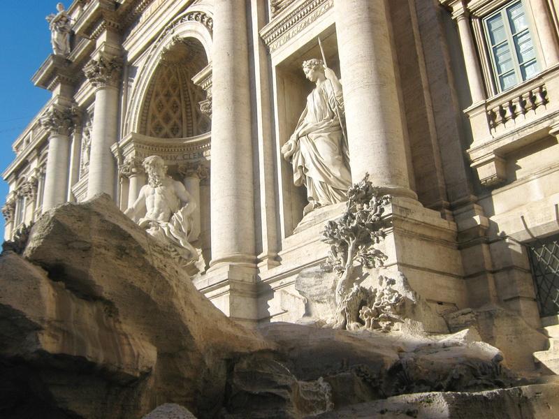 Fontana Di Trevi Rim