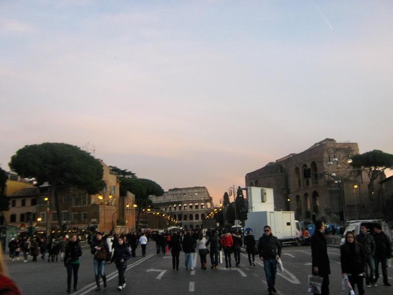 Rimski forumi Fori Dei Imperiali