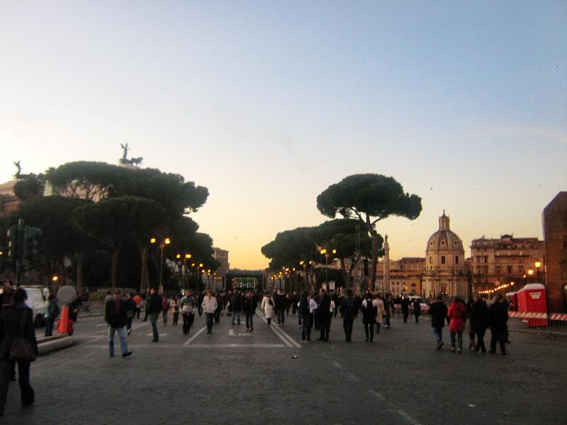 Ulica foruma Rim