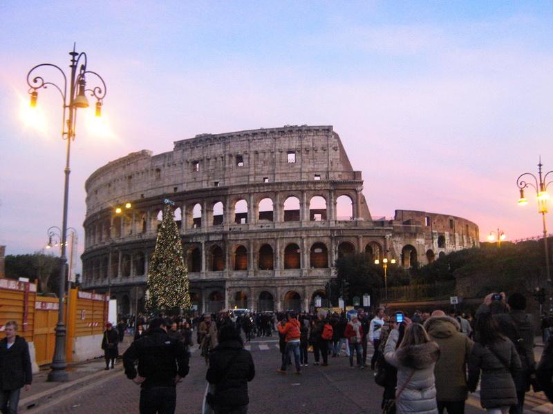 Koloseum u predvečerje