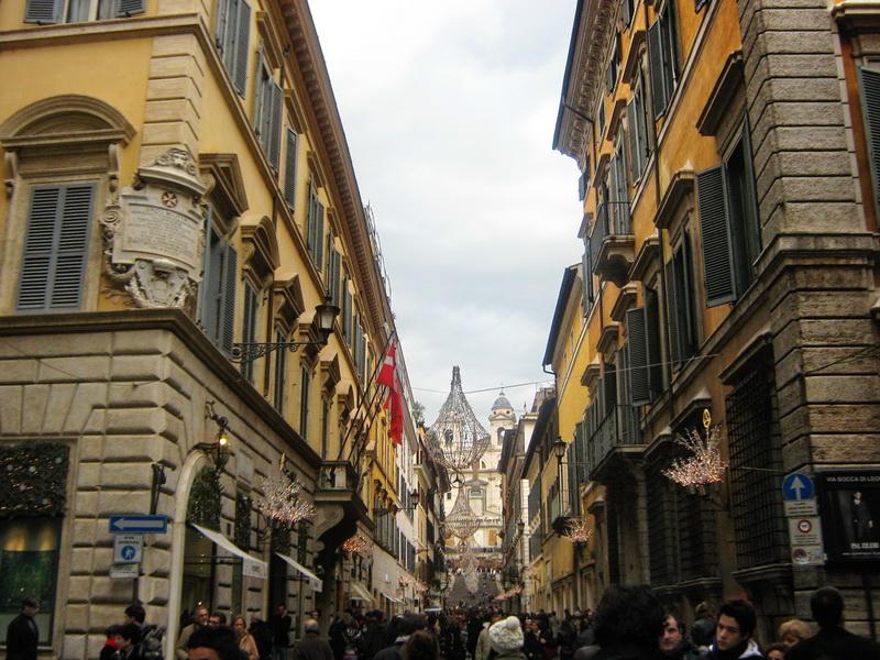 Ulica u Rimu