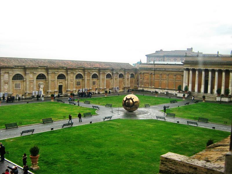 Vatikan Rim dvorište