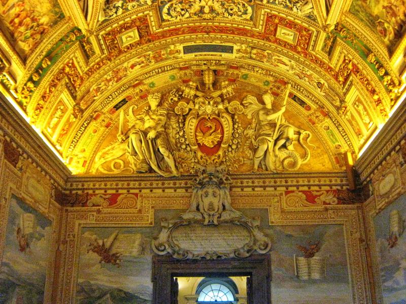 Vatikan Rim detalj iz muzeja