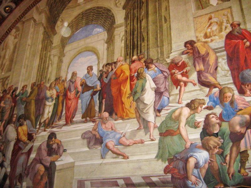 Vatikan Rim slika iz muzeja