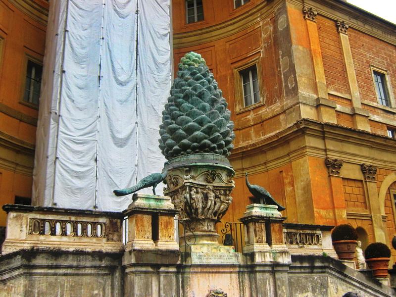 Šišarka simbol Vatikana