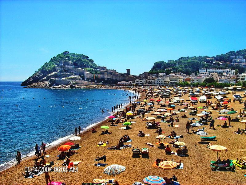 Tosa de mar plaža