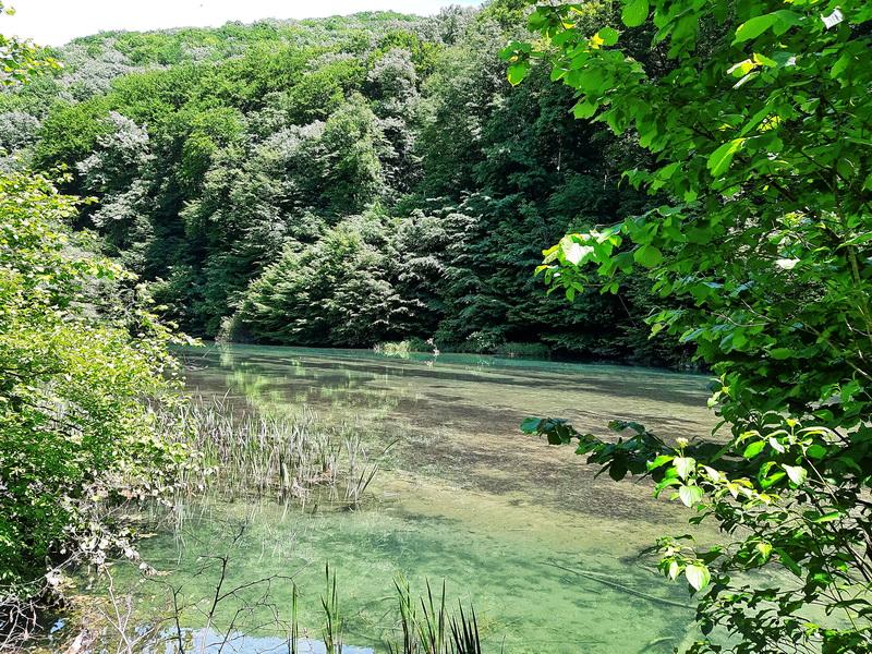 Jezero na ulazu u kamp-Nera