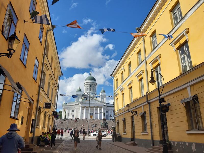 Helsinki ulica u centru grada