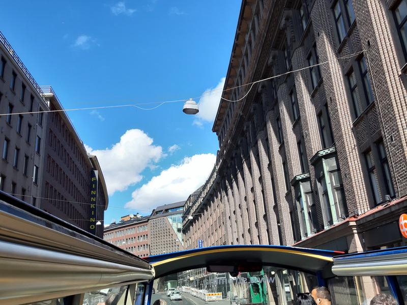 Vožnja ulicama Helsinkija