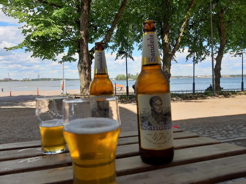 Sandels popularno finsko pivo