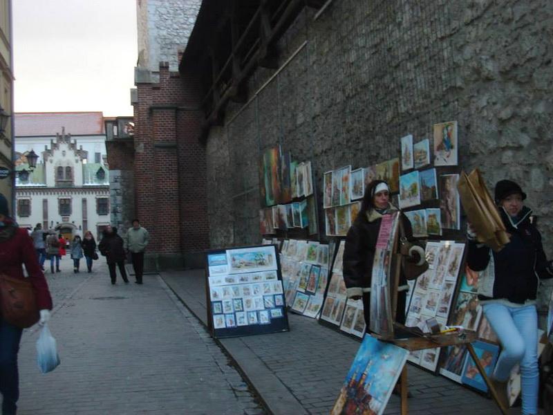 Ulica u Krakovu