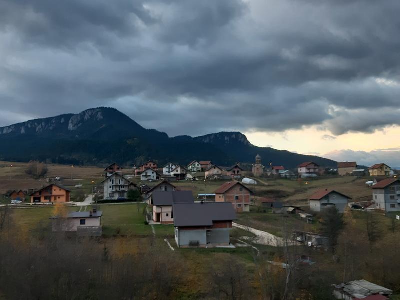 Svitanje na putu za Sarajevo