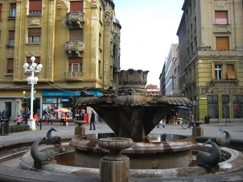 Fontana na Trgu pobede