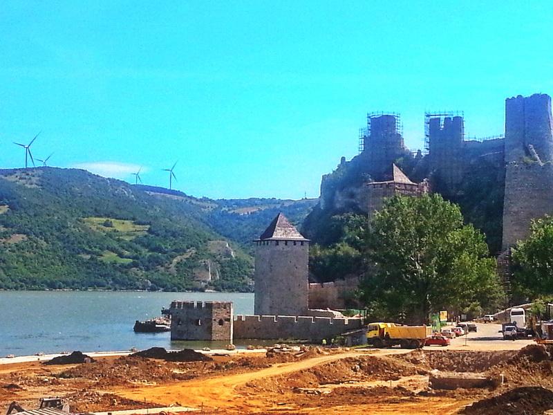 Golubačka tvrđava pre rekonstrukcije