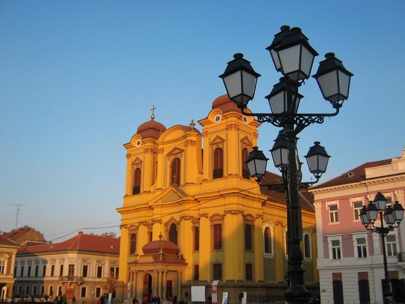 Katolička crkva na trgu