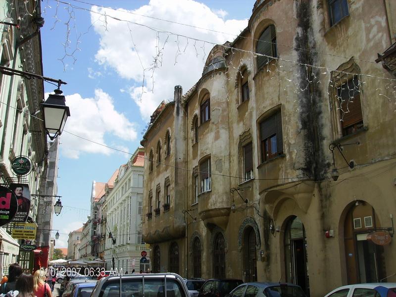 Ulica u Temišvaru